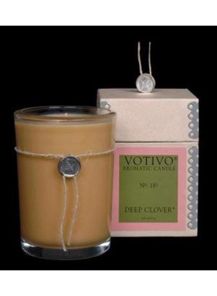 Votivo Votivo Aromatic Candle Deep Clover