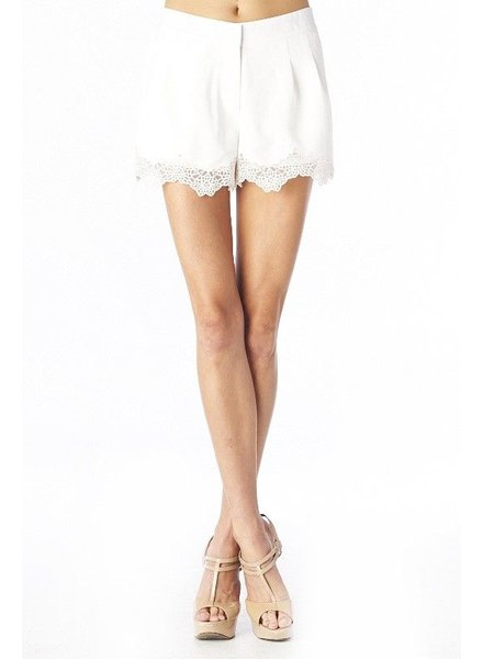 C Luce C Luce Floral Trim Cocktail Shorts, sale item, Was $68