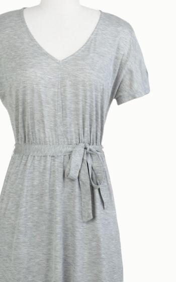 Tulle Tulle V-neck maxi dress