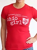 Great to Be Here Tees Ohio Girl Tee
