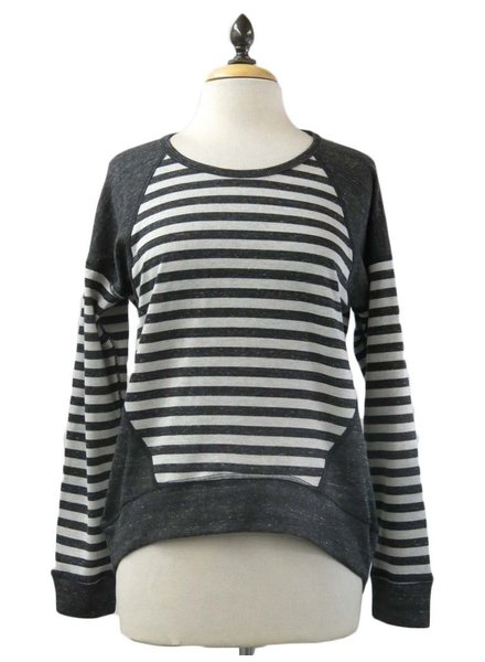 Coin 1804 Coin 1804 Reversible Striped Top