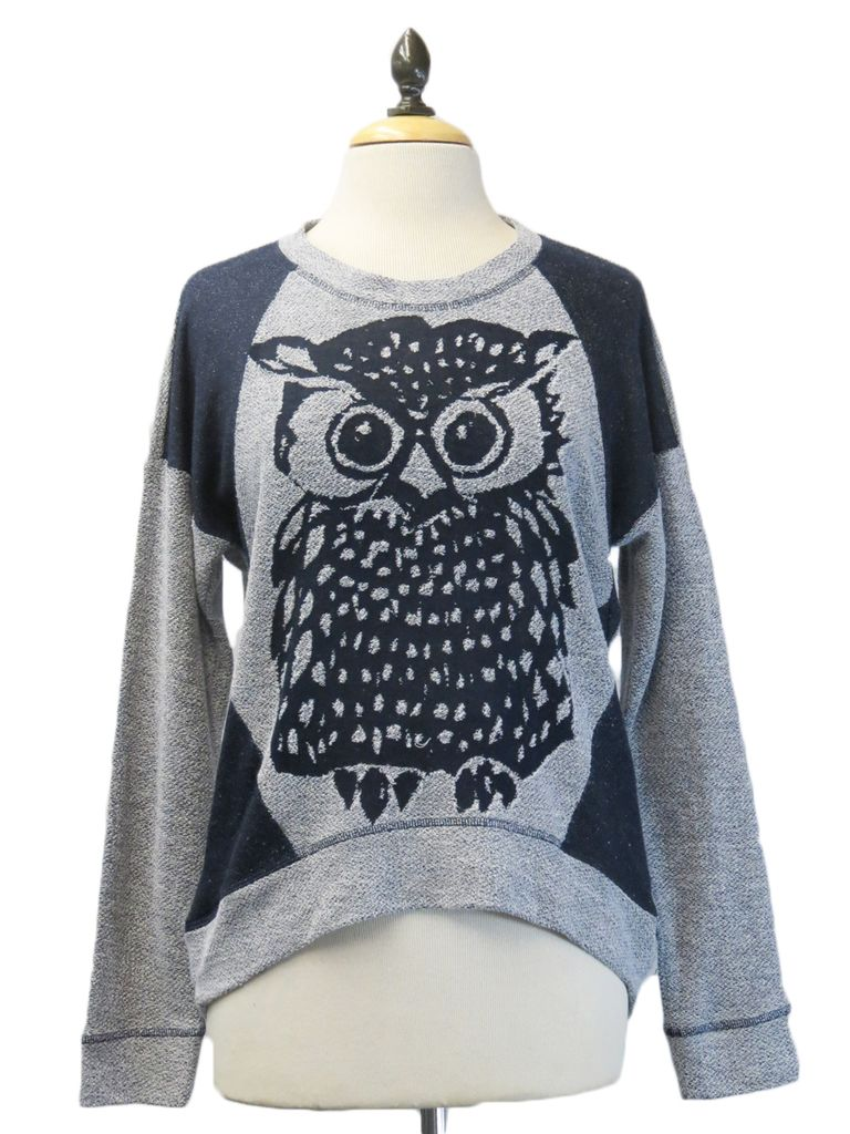 Clothing Coin1804 Owl Pullover