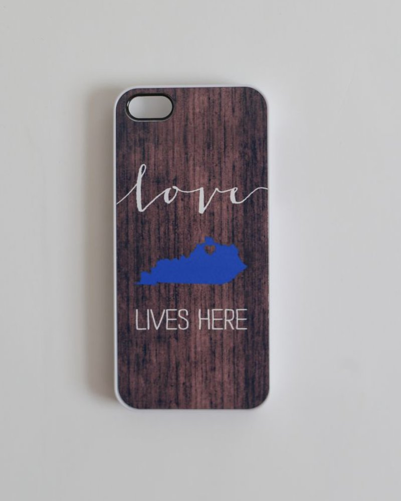 Field Trip Field Trip iPhone 5 / 5s case - Blue KY