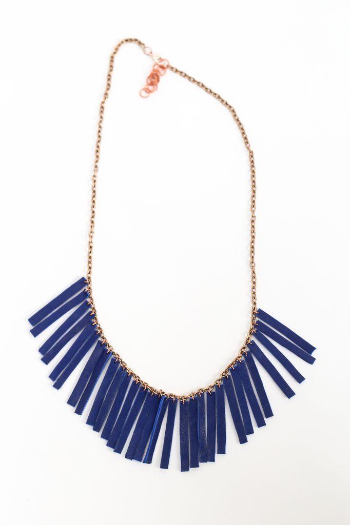 Flocktails Flocktails Donna Necklace - Blue