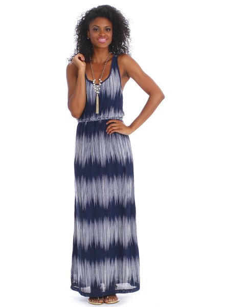 vFish designs vfish designs tidal maxi dress