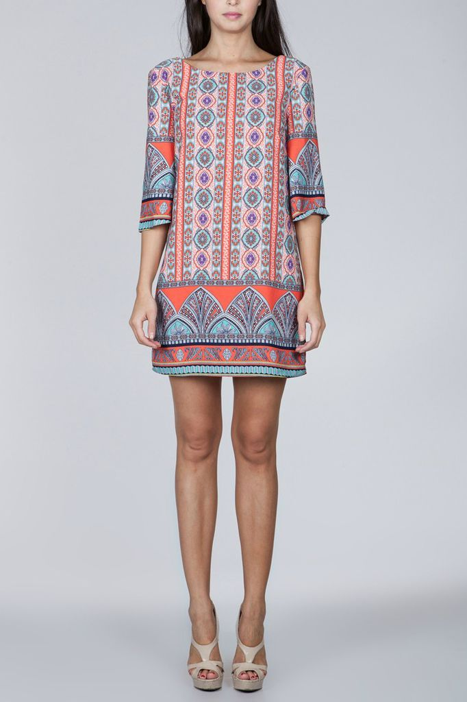 Ark & Co. Ark & Co. printed shift dress