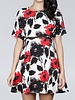 Ark & Co. Ark & Co Floral Print Cutout Dress
