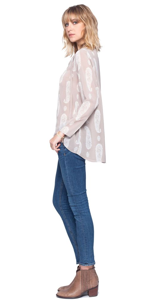 Gentle Fawn Gentle Fawn Discovery Paisley Print Top