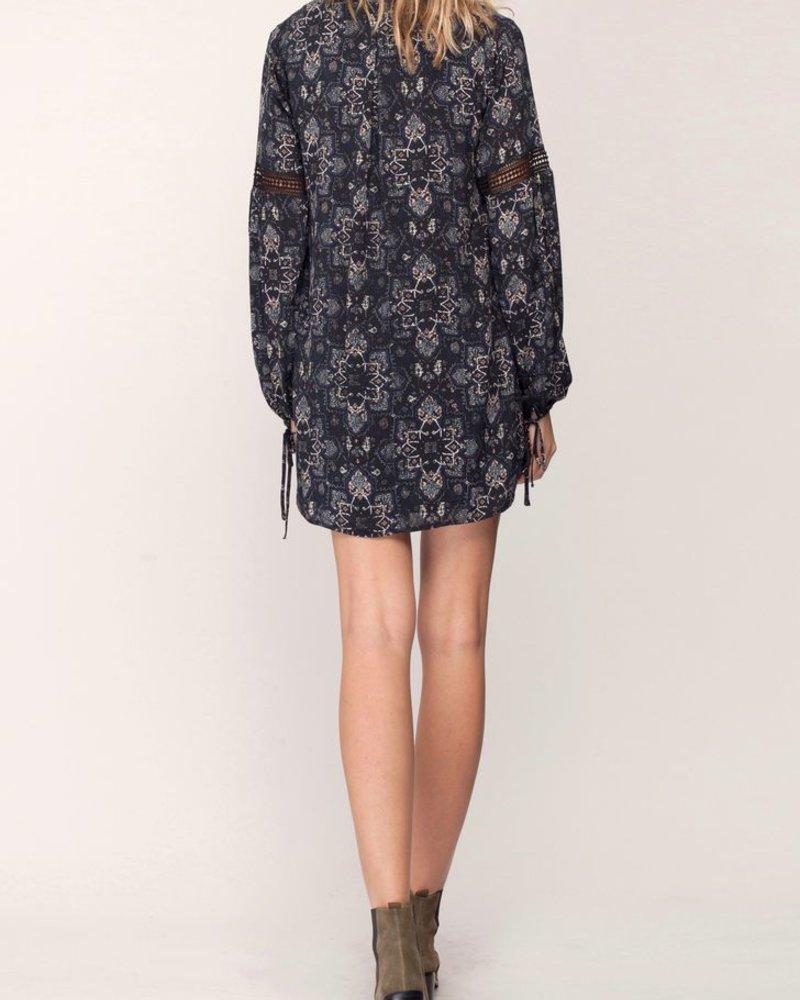 Gentle Fawn Gentle Fawn Black Print Presley Dress