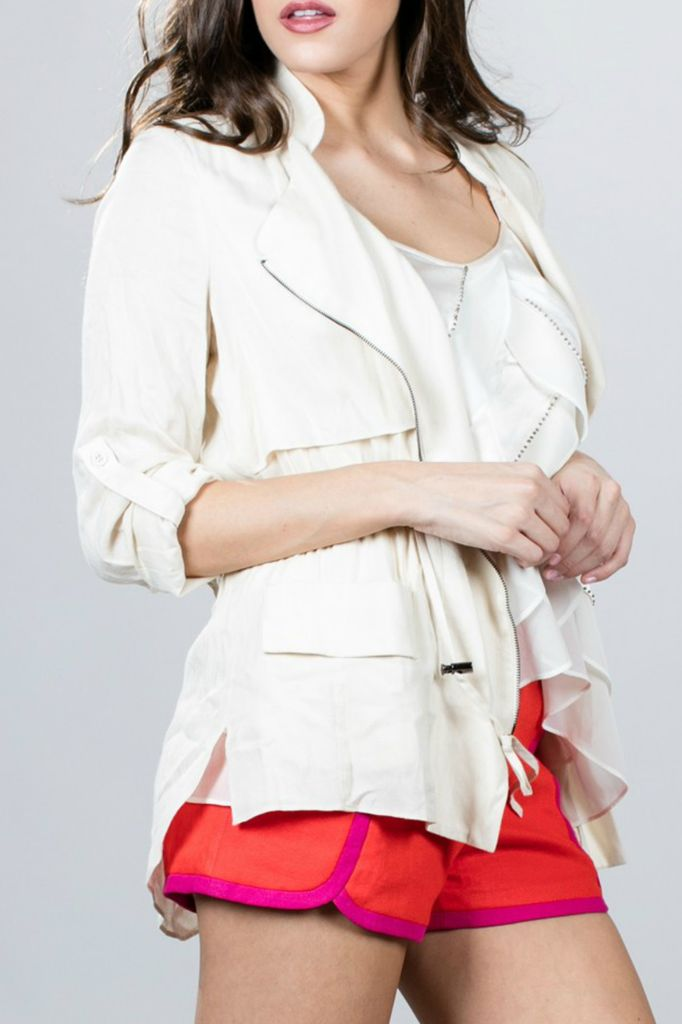 Ark & Co. Ark & Co. Zippered Layer Front Jacket