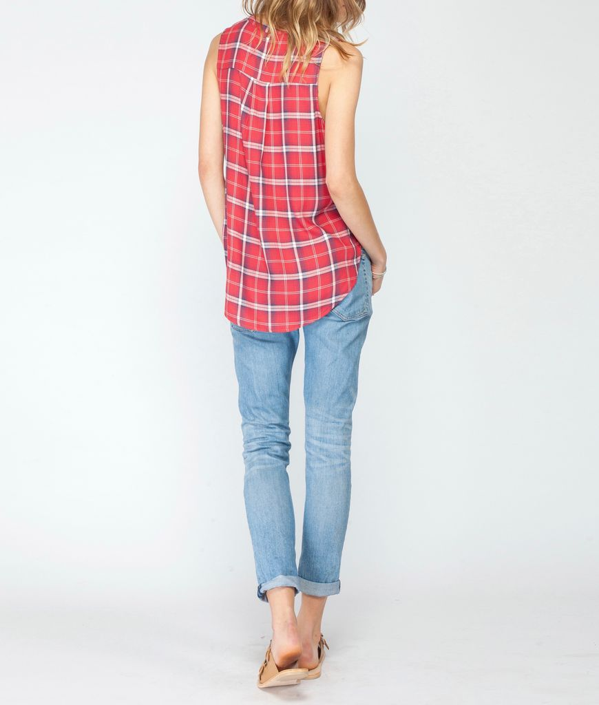 Gentle Fawn Gentle Fawn Plaid Tank