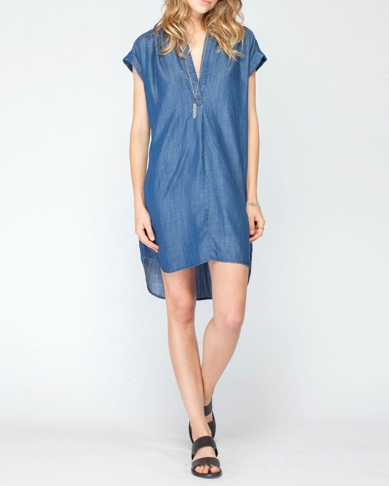 Gentle Fawn Gentle Fawn Indigo Wash Dress