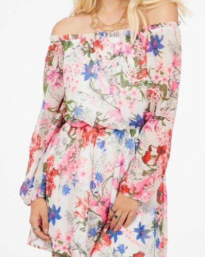 Peach Love CA Peach Love CA Off the Shoulder Dress