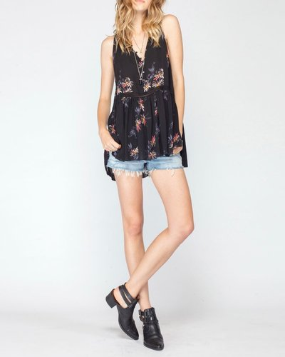 Gentle Fawn Floral Tunic Top