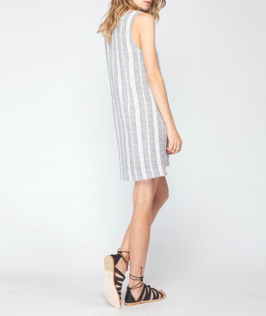 Gentle Fawn Printed Shift Dress