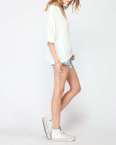 Gentle Fawn Oversized V-Neck Top