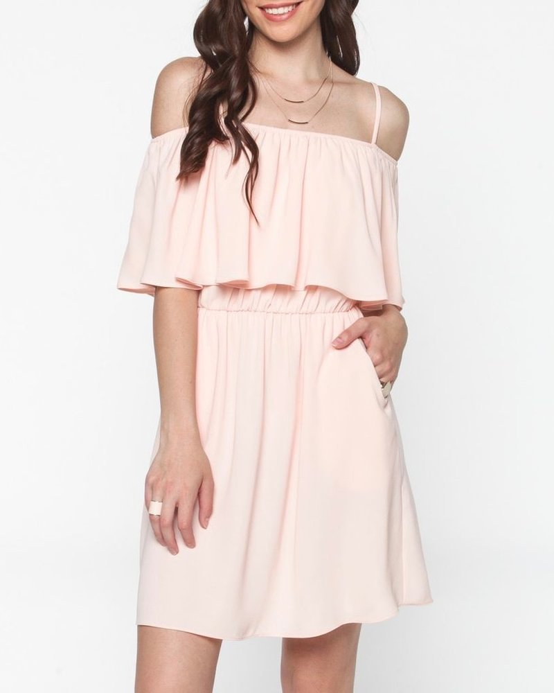 Everly Front Ruffle Dress