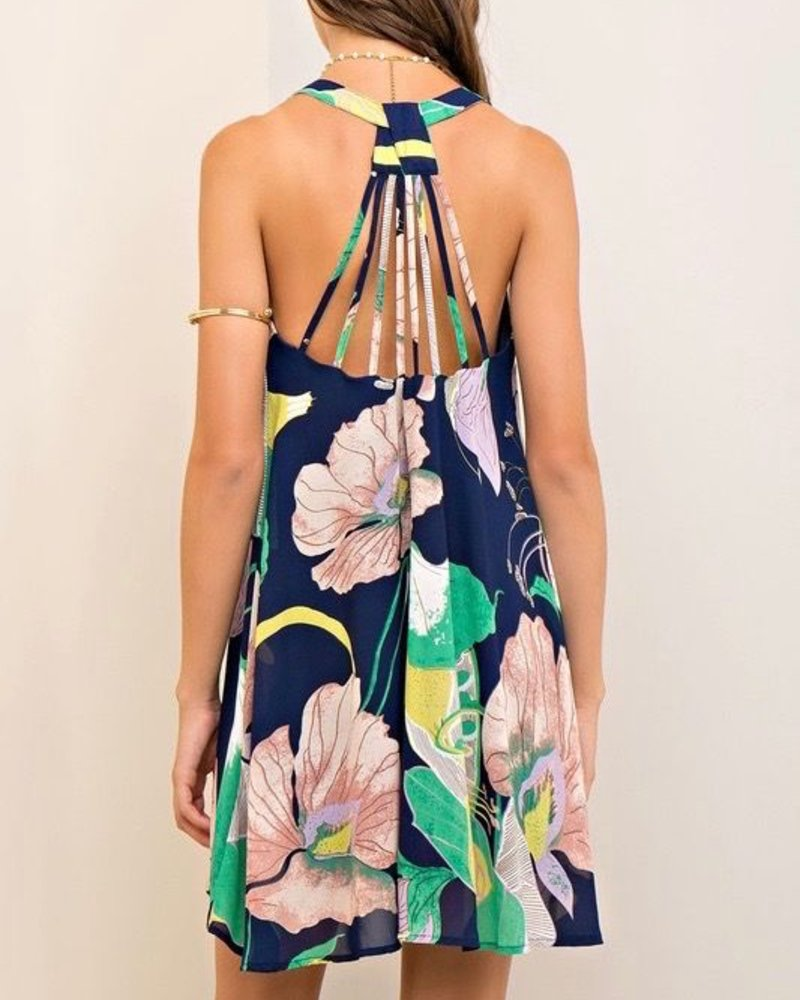 Entro Strappy Detail Dress