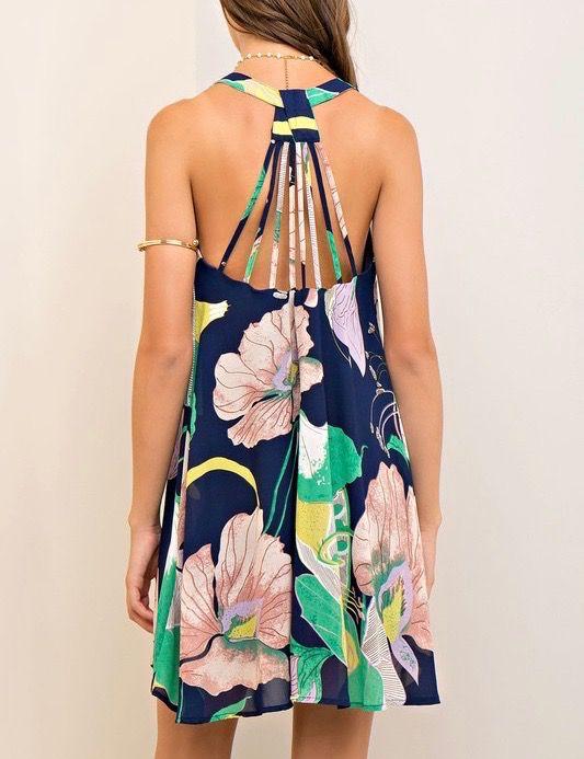 Entro Strappy Detail Dress