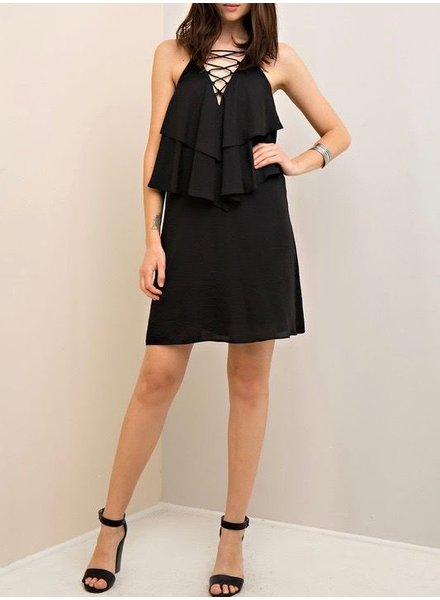 Entro Ruffle Shift Dress