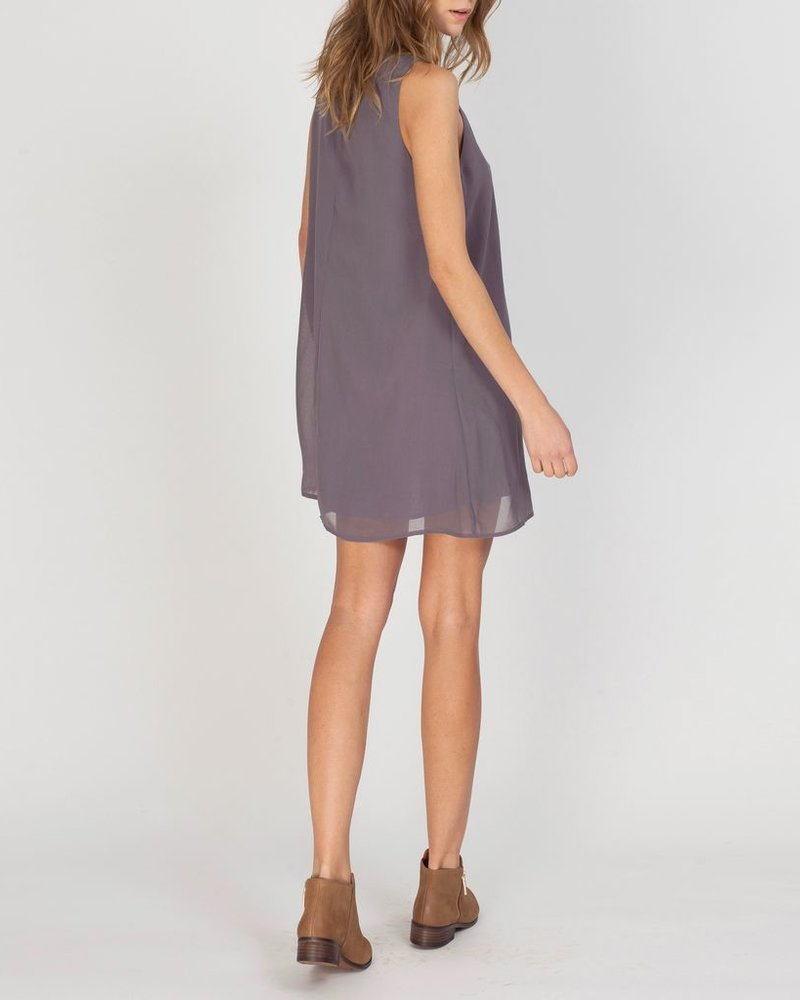 Gentle Fawn Mock neck shift dress