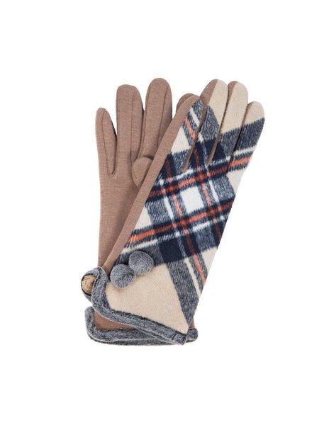Trend Boutique Plaid Smart Gloves