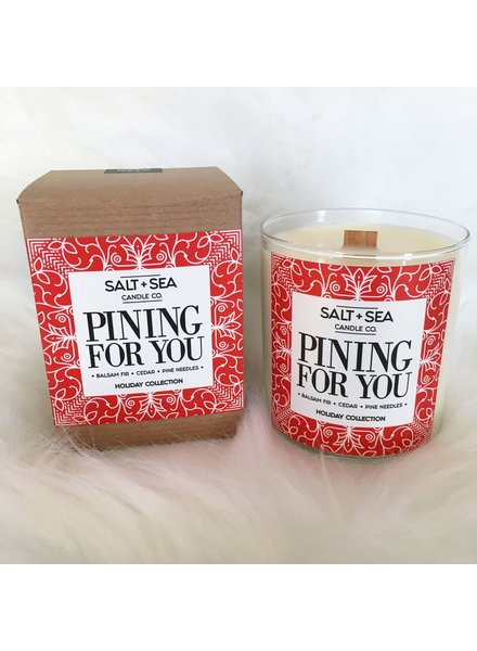 Salt + Sea Candle Co Salt +Sea Pining for You Candle