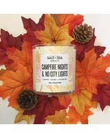 Salt + Sea Candle Co Salt +Sea Campfire Nights Candle