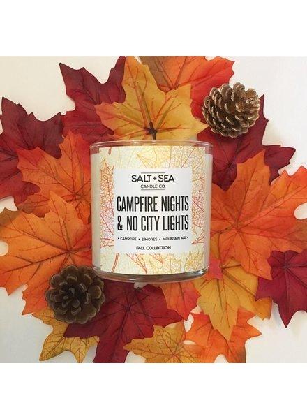 Salt + Sea Candle Co Salt +Sea Campfire Nights Candle
