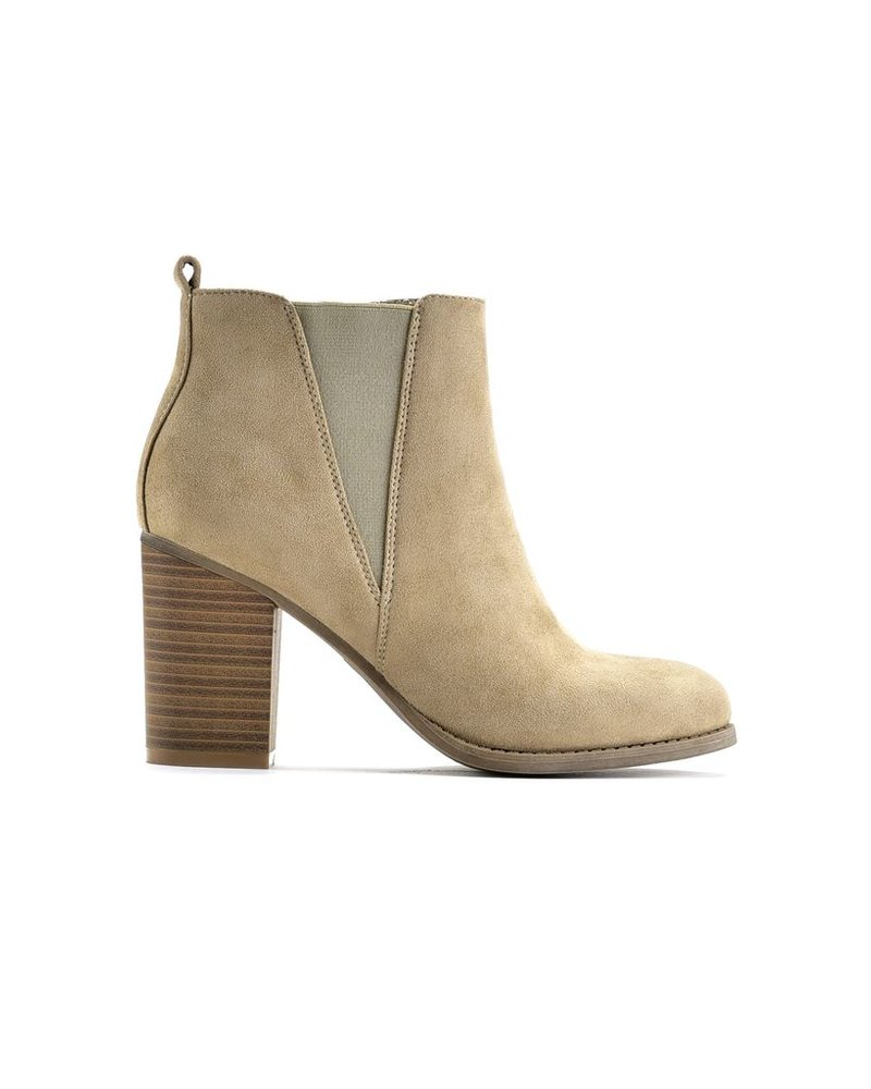 Charlie Paige Zippered booties