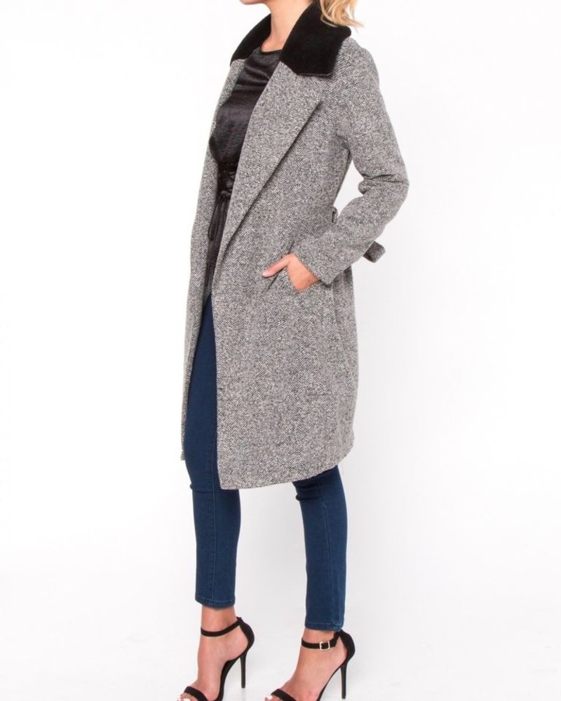 Everly Knee Length Coat