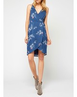 Gentle Fawn Printed Wrap Dress