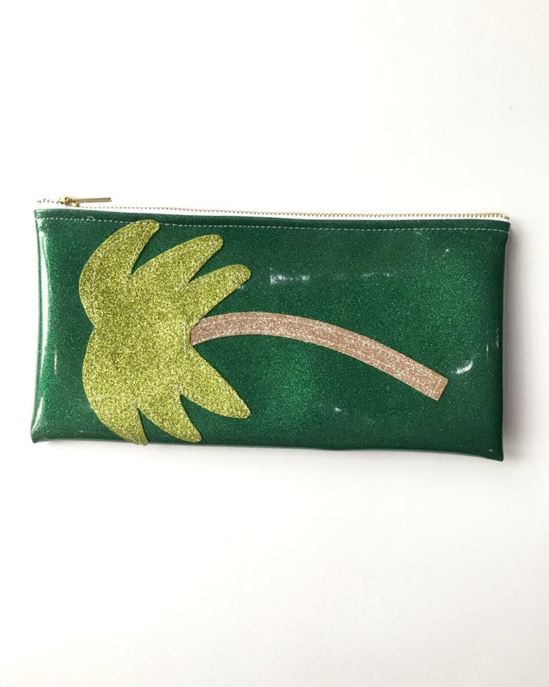 Julie Mollo Palm Tree clutch
