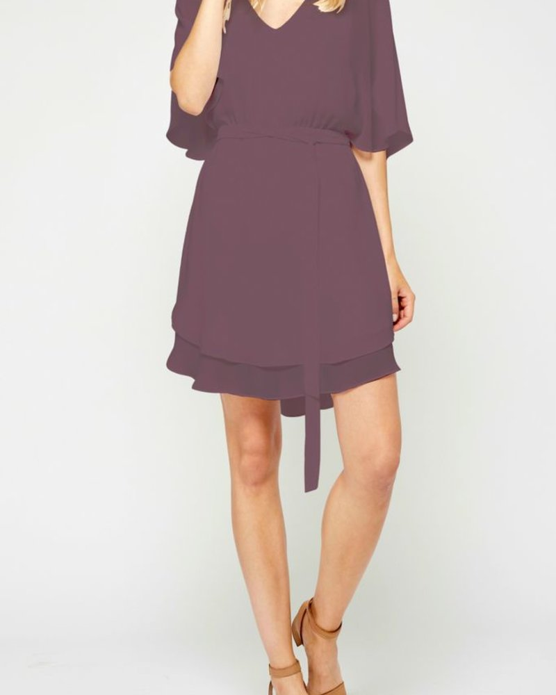 Gentle Fawn Flowy sleeve dress