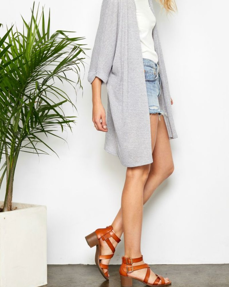 Gentle Fawn Mid Thigh Cardigan
