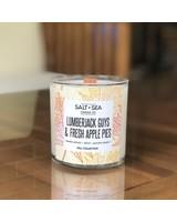 Salt + Sea Candle Co Salt + Sea Apple Pies Candle