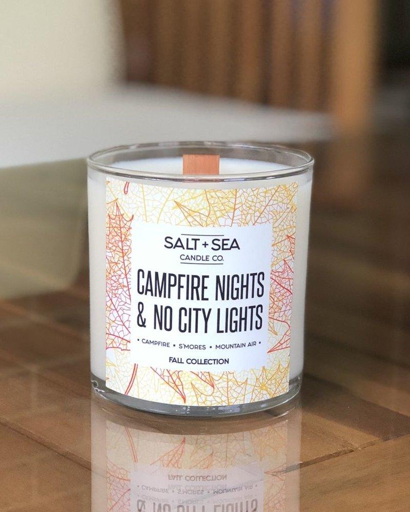 Salt + Sea Candle Co Salt + Sea Campfire Nights Candle