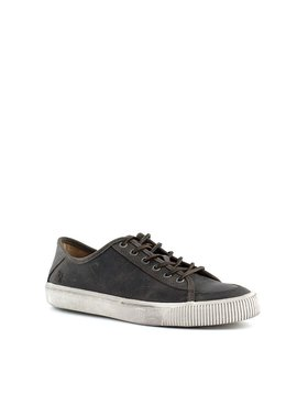 Men's Frye Miller Low Lace Shoe Charcoal