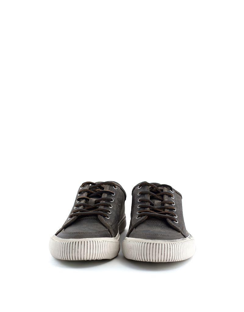 Frye Men's Frye Miller Low Lace Shoe Charcoal
