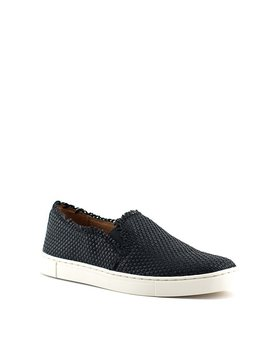 Frye Ivy Fray Woven Slip Shoe