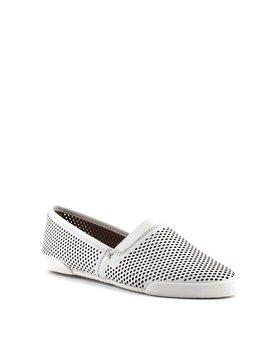 Frye Melanie Perf Slip Shoe White
