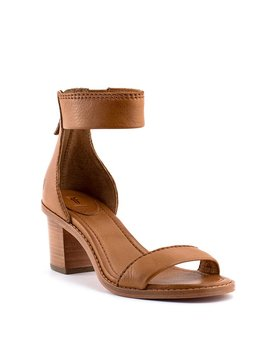 Frye Brielle Back Zip Sandal Copper