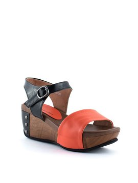 Yuko Imanishi 77227 Sandal Orange/Black