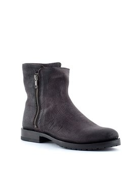 Frye Natalie Double Zip Charcoal