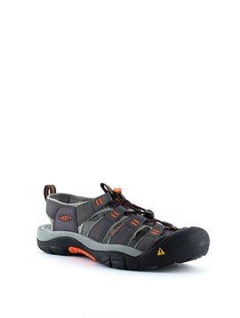 Men's Keen Newport H2 Sandal Magnet/Nasturtium