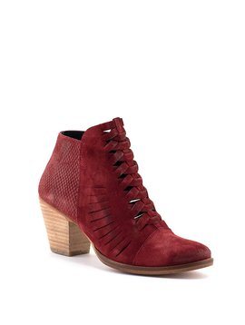 Free People Loveland Ankle Boot Red