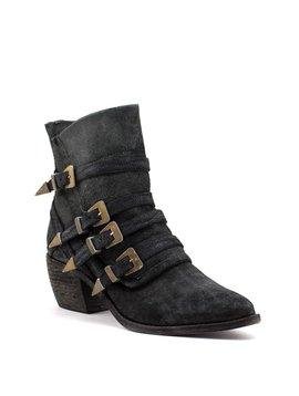 Free People Mason Western Boot Black