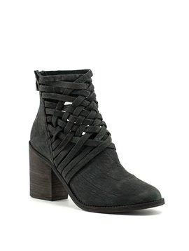 Free People Carrera Heel Boot Black
