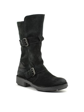 Fly Naio Boot Black Suede