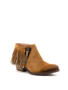 Coque Terra 1092-30.14 Boot Cognac/Metal Gold Suede